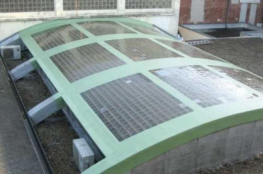 Impermeabilizzazione del vetro cemento